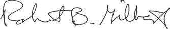 Bob Gilbert Signature