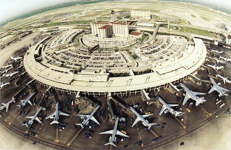 DFW airport exterior
