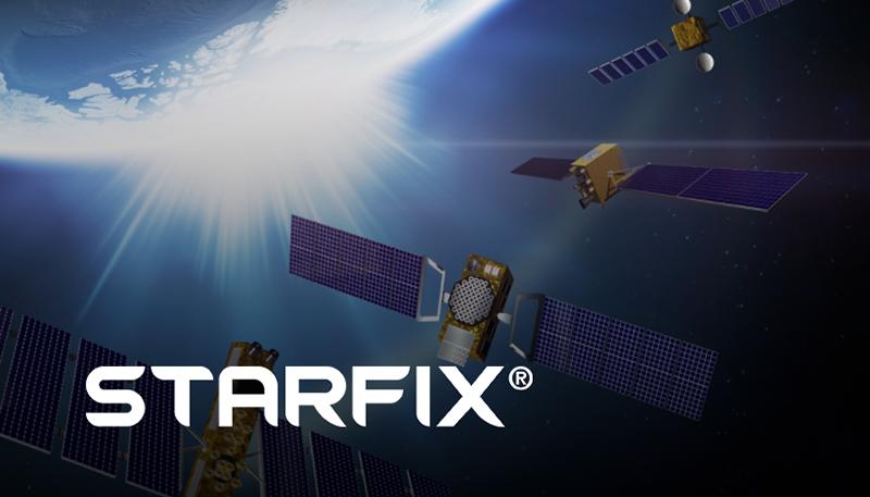 illustration of Starfix satellite