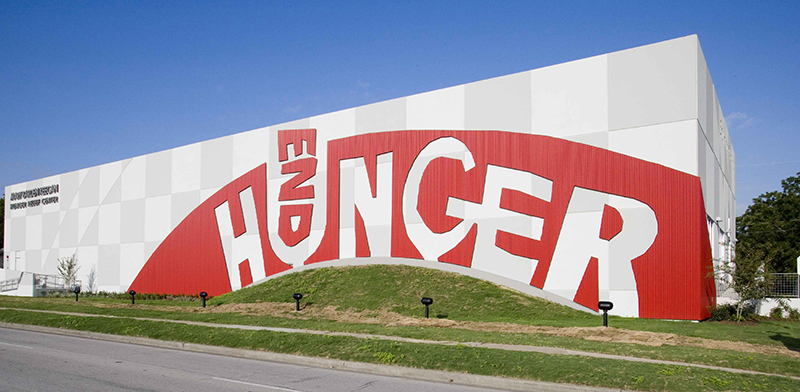 exterior view of End Hunger warehouse