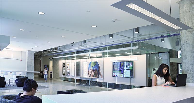 interior of academic building